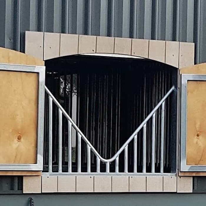 Shutters - Custom Horse Stables - Signature Stables